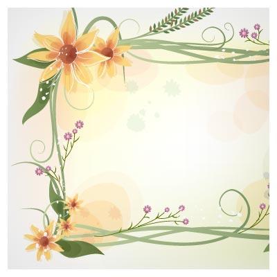 وکتور قابهای گل