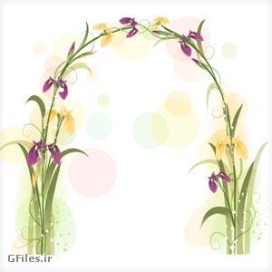دانلود گل های فانتزی با فرمت برداری (وکتور) کاملا لایه باز