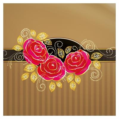 دانلود فایل لایه باز کارت عروسی با تم رنگی قهوه ای طلایی ، با فرمت PSD