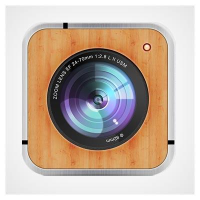 آیکون لنز دوربین