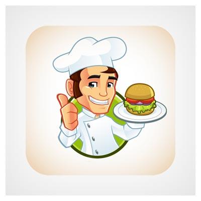 آیکون سر آشپز