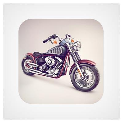 آیکون موتور سیکلت