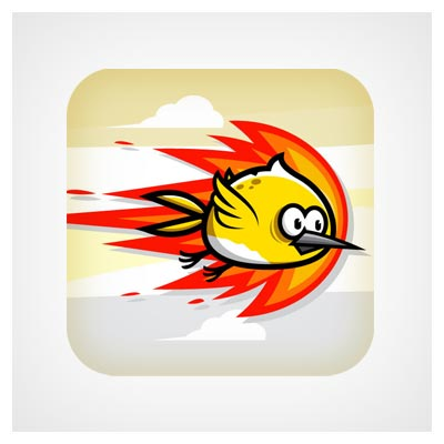 آیکون پرندگان خشمگین
