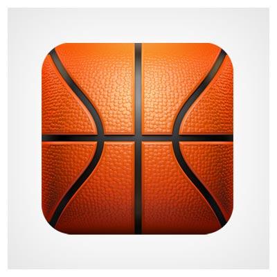 آیکون توپ بسکتبال