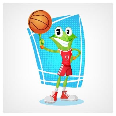 قورباغه بسکتبالیست