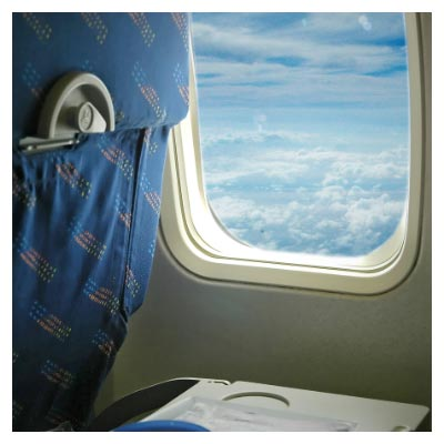 فضای داخل هواپیما