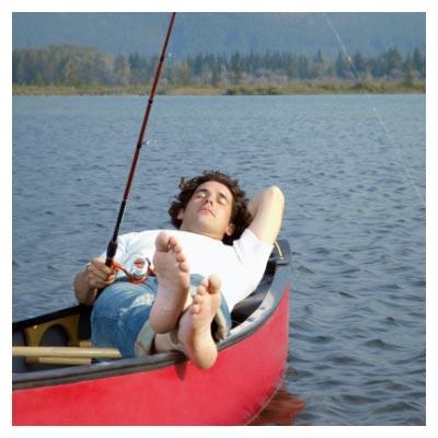 ماهیگیری در قایق