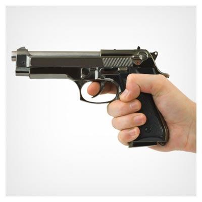 اسلحه کشیدن