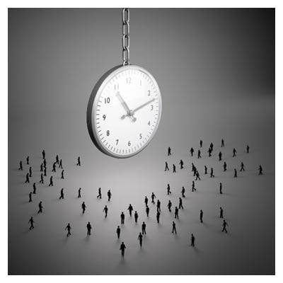 انسان و گذر زمان