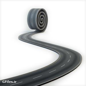 دانلود عکس با کیفیت خلاقانه فرش کردن جاده با پسوند jpg
