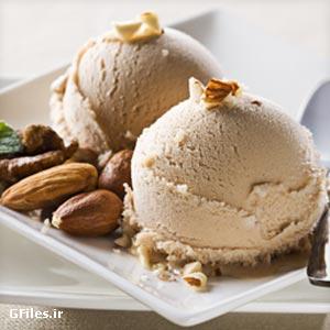 دانلود عکس باکیفیت بستنی طعم دار نسکافه ای با فرمت JPG