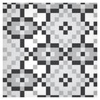 دانلود عکس pattern کاشی های مربعی سیاه و سفید