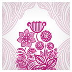 گل و بوته هندی