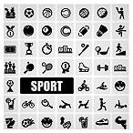 وکتور آیکونهای ورزشی