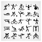 وکتور حرکات ورزشی