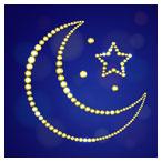 وکتور ماه و ستاره