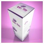 دانلود موکاپ psd جعبه مقوایی دارو از نمای بالا با امکان نمایش طرح شما