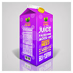 juice mockup packing