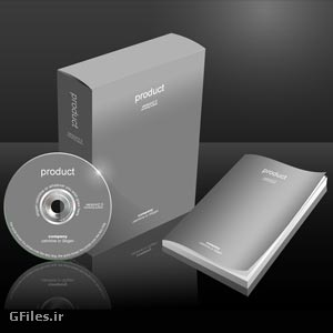 دانلود موکاپ جعبه بسته سی دی و لیبل سی دی