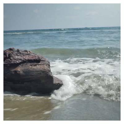 کلیپ با کیفیت ساحل دریا