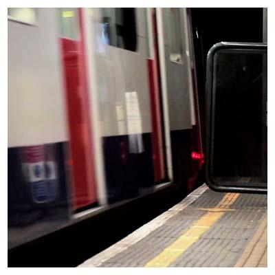 ویدیوی با کیفیت حرکت ترن شهری