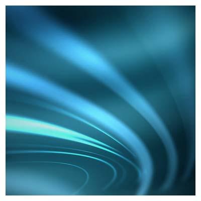 افکت ویدیویی درخشش نورهای آبی
