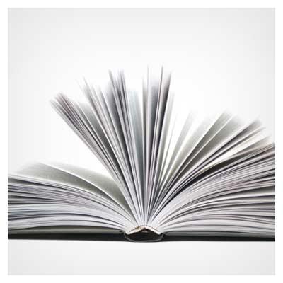 عکس کتاب با صفحات باز