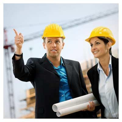 عکس با کیفیت مهندسان ساختمان سازی