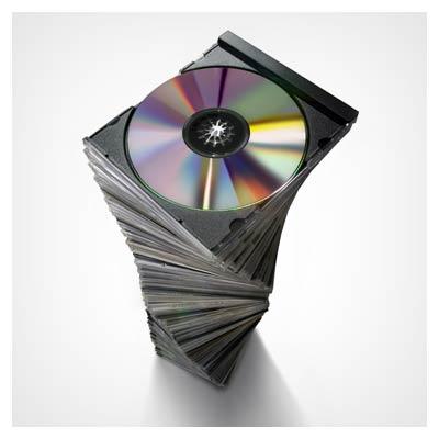 عکس با کیفیت مجموعه جعبه شیشه ای cd