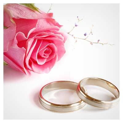عکس با کیفیت حلقه های ازدواج
