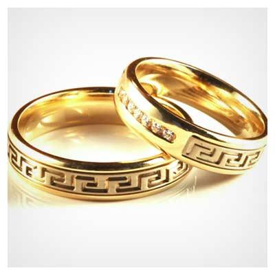 عکس با کیفیت حلقه ازدواج