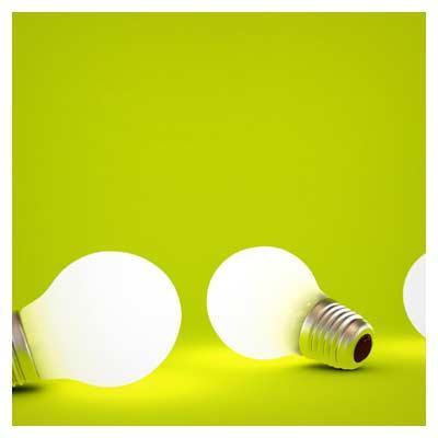 عکس با کیفیت لامپ های رشته ای