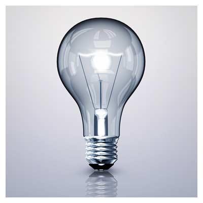 عکس با کیفیت لامپ رشته ای