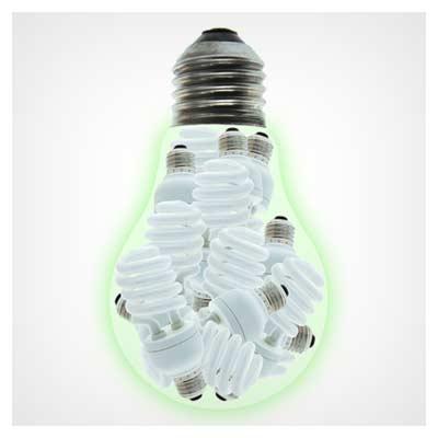عکس با موضوع نقش لامپهای کم مصرف در مصرف انرژی