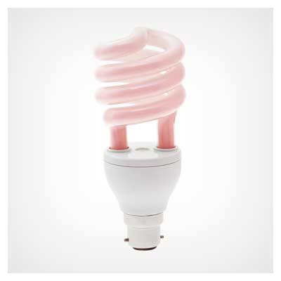 عکس با کیفیت لامپ کم مصرف