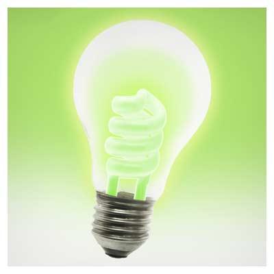عکس لامپ سبز