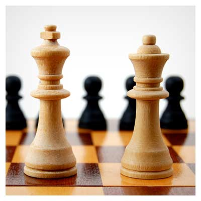 عکس با کیفیت مهره شطرنج