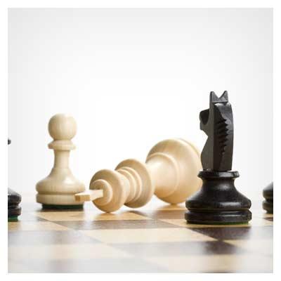 مهره های بازی شطرنج