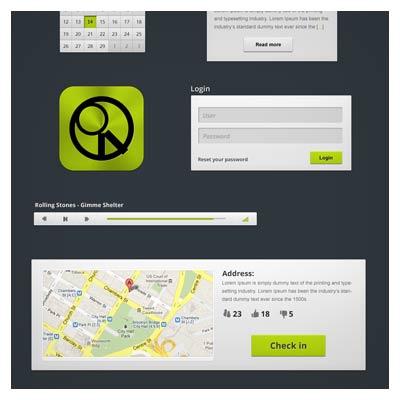 المان های لایه باز مناسب جهت طراحی رابط کاربری