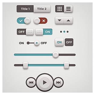 مجموعه کلیدهای کنترلی آیفون
