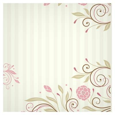 طرح بکگراند کاغذ دیواری فانتزی گلدار با فرمت ai (وکتور لایه باز)