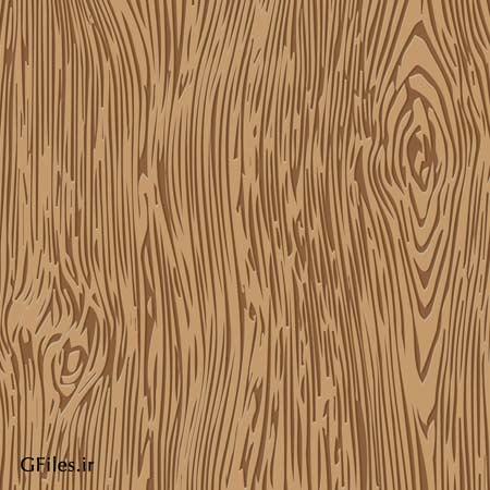 وکتور لایه باز طرح پترن چوب و بافت چوب یا پارکت با فرمت ai