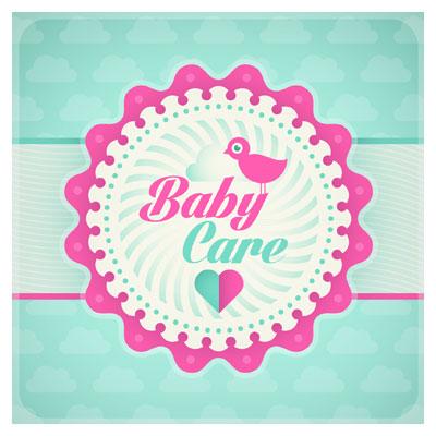 آیکون با موضوع مراقبت از کودک (Baby Care)