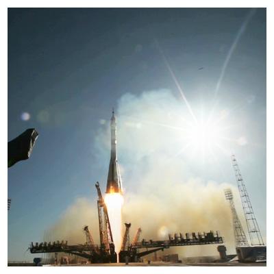 ویدیوی کوتاه و با کیفیت لحظه پرتاب موشک