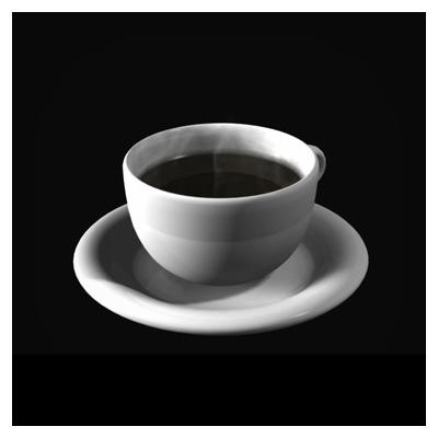 دانلود ویدئوی سه بعدی فنجان قهوه داغ