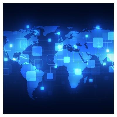 دانلود فایل وکتور نقشه جهان