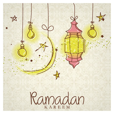 دانلود وکتور رایگان با موضوع ماه مبارک رمضان