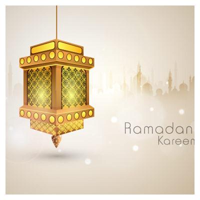 وکتور لایه باز با موضوع رمضان الکریم