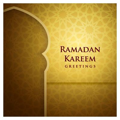 دانلود وکتور لایه باز محراب و سحر ماه رمضان