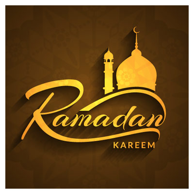 وکتور تایپوگرافی انگلیسی رمضان کریم